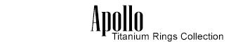 Apollo - Titanium Rings Collection